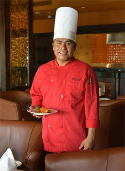 Chef Gerardo Garcia Martinez at Villa del Palmar at the Islands of Loreto