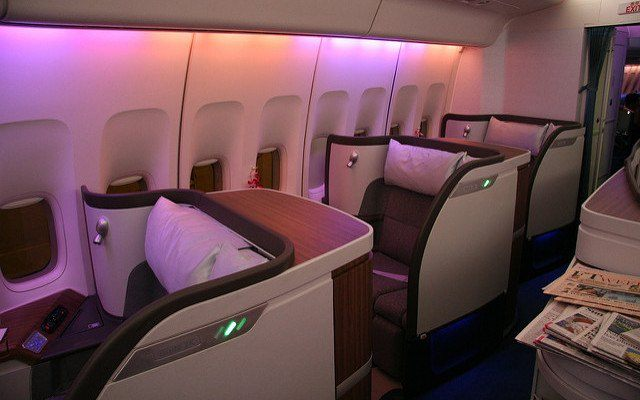 First Class Honeymoon Flights