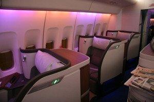 First Class Honeymoon Flights