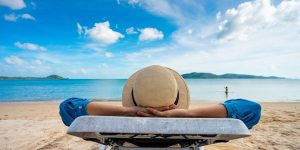 Man enjoying villa del palmar vacation club in one of the best beach destinations in mexico